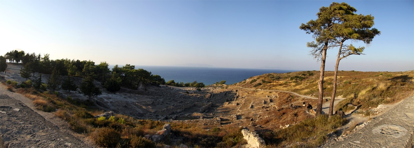 Ancient city of Kamiros - Rhodes