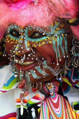 Elaine Davidson - Most pierced woman according to the Guinness World Records - Edinburgh